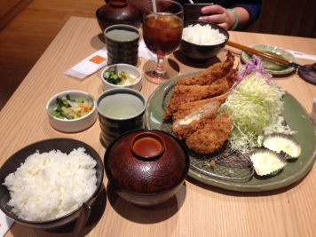 the Tonkatsu feast!!