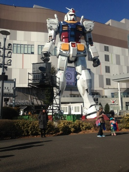 Giant Gundam on Odaiba