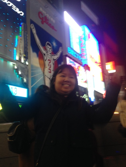 Glico man! A popular Japanese confectionary company