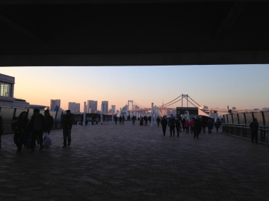 View from Odaiba