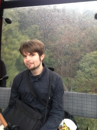 Ah it's Zach on the Kobe tram.