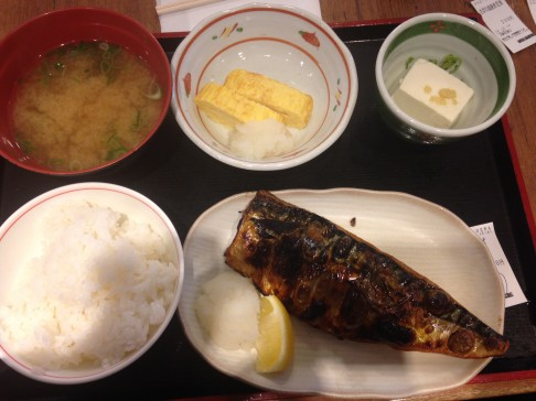 $5 fish lunch, was pretty good!