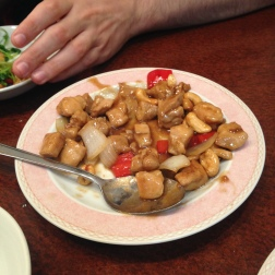 cashew chicken thing