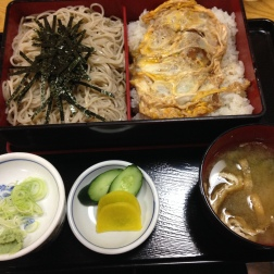 Food from our town udon shop