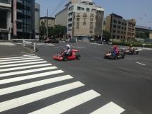 Live Mario Kart race
