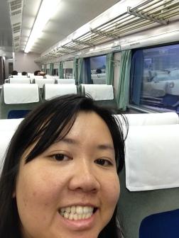 Old Shinkansen, still pretty nice.