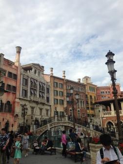 Venice portion at Disney Sea
