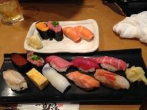 2nd Dinner sushi