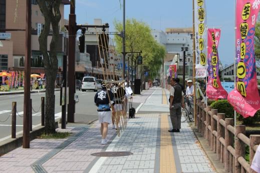 Akita city was a real surprise, beautiful city.