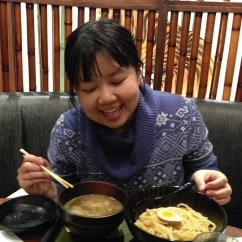 Tsukemen ramen winter party
