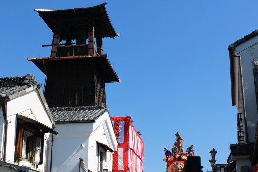 Bowing to the bell tower