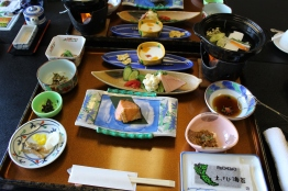 Kaiseki breakfast