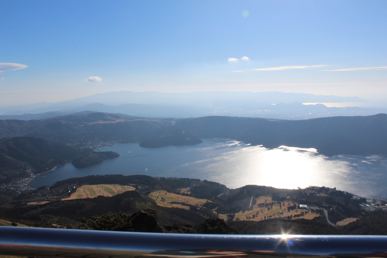 Lake Ashi from the Ropeway