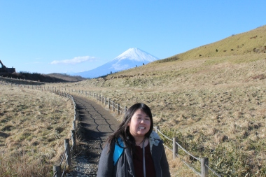 Yay! Mt. Fuji!