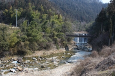 The start of our Nakasendo Highway trail
