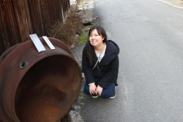 Old miso barrel