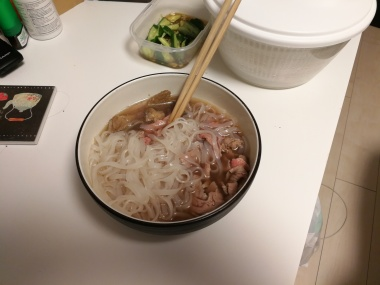 Homemade pho!