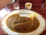 Fancy curry in Osaka!