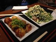 Takoyaki museum, needs more green onion.