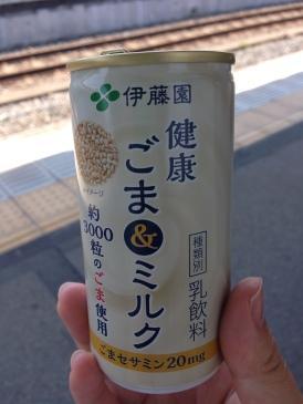 Sesame Milk. Yum!