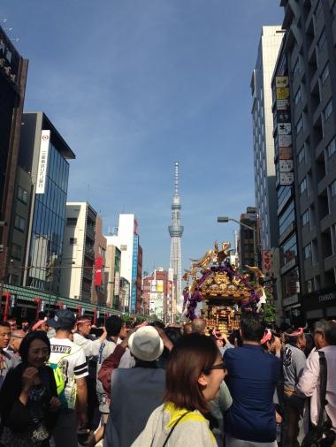 Local festival in Asakusa