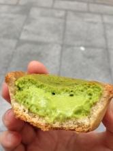 Matcha cheese tart