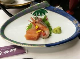 Sashimi for dinner