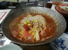 Tomato pork!