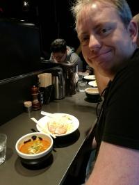 Spicy tonkotsu Tsukemen