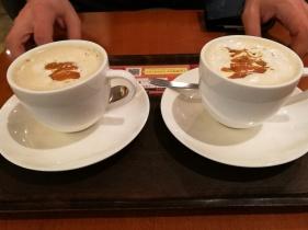 sesame milk coffee