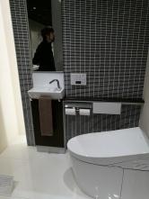 A basic Toto bathroom setup
