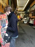 Fish market of Kokura