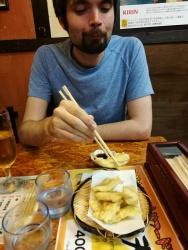 Toriten (chicken tempura)