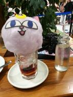 Luna P cotton candy soda