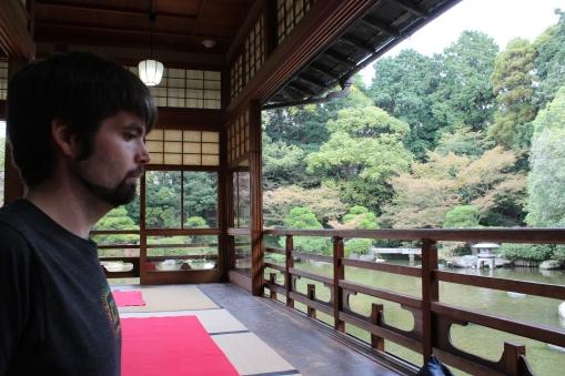 Teahouse of Yusentei Garden